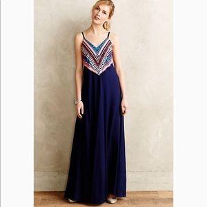 Mara Hoffman prism point maxi dress sz L